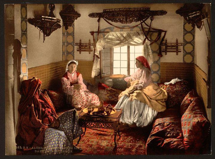 femmes mauresques Alger