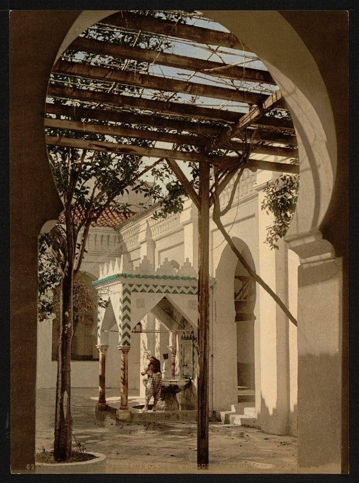 Fontaine dans la mosquée El Kebir