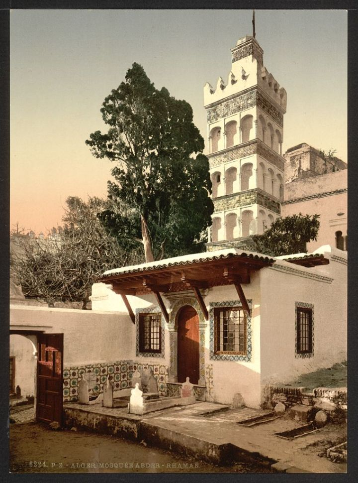 mosquée d'Abder Rahman Alger