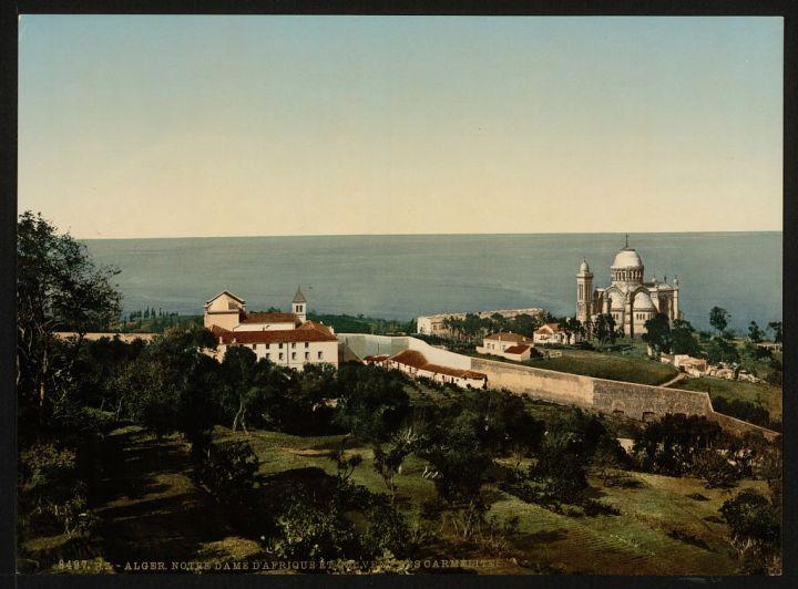 Notre Dame d'Afrique et le couvent des Carmélites
