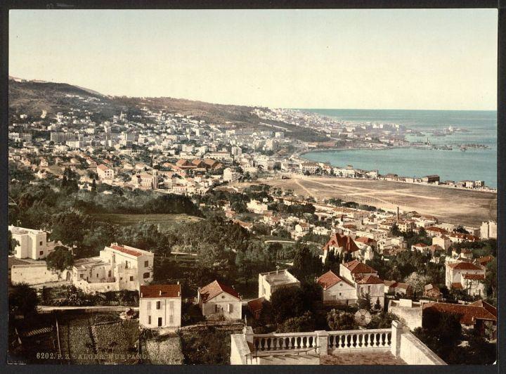 vue générale de Mustapha I Alger